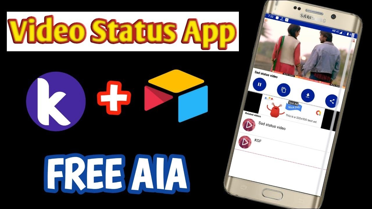 Whatsapp status aia file