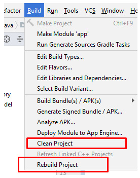 How to Change Package Name in Android Studio App? Clean and rebuild.